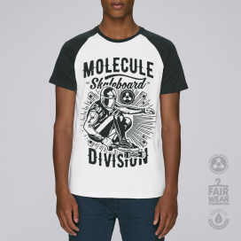 Μπλούζα MLC Division Baseball (White/Black)