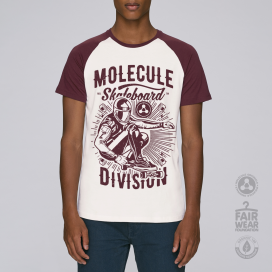 Blouse MLC Division Baseball (Vintage White/Burgundy)