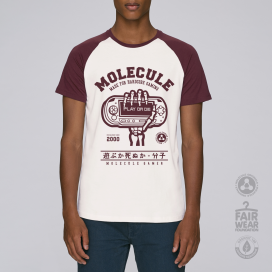 Blouse MLC Play Or Die Baseball (Vintage White/Burgundy)