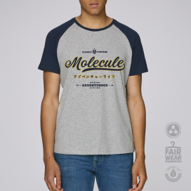 Blouse MLC Vintage Baseball (Grey/Navy)