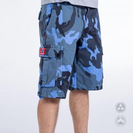 Shorts MLC 50732 Canvas Multi Color Camo Regular Fit
