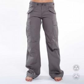 Παντελόνι Γυναικείο Cargo Jungle MLC 45041 Canvas Slim Fit