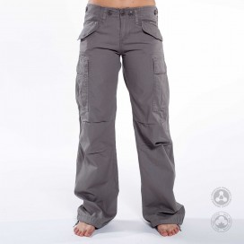 Pants Women Cargo Jungle MLC 45041 Canvas Slim Fit