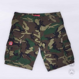 Βερμούδα MLC 52010 Camo Green Oversized (2XL-5XL) Regular Fit