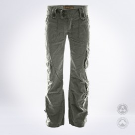 Παντελόνι Γυναικείο Low Cuts MLC 45062 Canvas Slim Fit