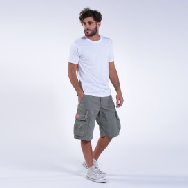 Βερμούδα MLC 50007 Canvas Zipper Regular Fit