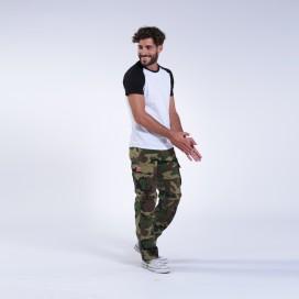 Παντελόνι MLC 55003 Rip Stop Slim Fit Camo Green