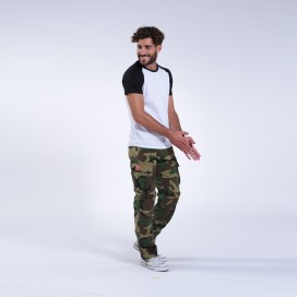 Παντελόνι MLC 55003 Rip Stop Slim Fit Camo Green