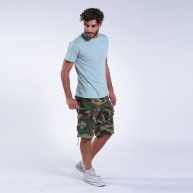 Βερμούδα MLC 55001 Rip Stop Camo Green Regular Fit