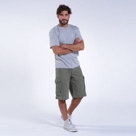 Βερμούδα MLC 42009 Classic Canvas Regular Fit