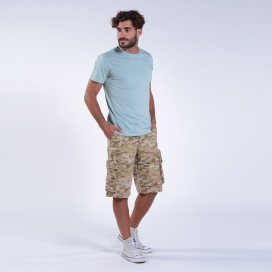 Shorts MLC 50007 Digital Beige Zipper Regular Fit