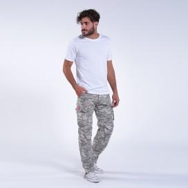 Παντελόνι MLC 55003 Rip Stop Digital Grey Slim Fit