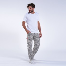 Παντελόνι MLC 55003 Rip Stop Digital Grey Slim Fit