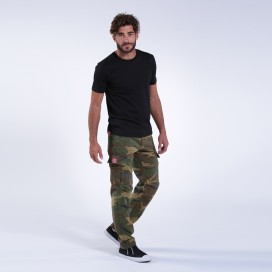 Pants MLC 62005 Outdoors Canvas Slim Fit Camo Green