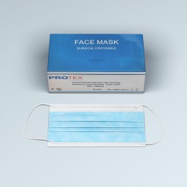 SINGLE USE SURGICAL FACE MASKS (50 PCS)