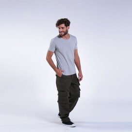 Pants 91514 Canvas Nine Pockets Regular Fit