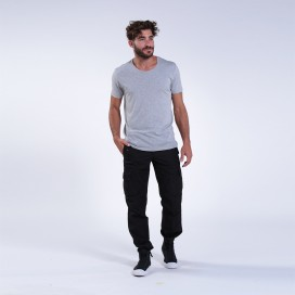 Pants 91714 Canvas Six Pockets Slim Fit