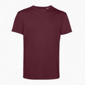 T-Shirt 43045 Organic Cotton 150 Gsm Regular Fit Burgundy