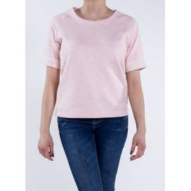Μπλούζα W S/S Sweatshirt 300 Gsm Organic Cotton Blend Cream