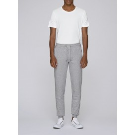 Pants M Jogging 300 Gsm Organic Cotton Blend Heather Grey