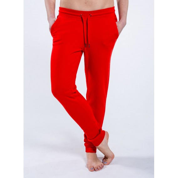 Παντελόνι W Jogging 300 Gsm Organic Cotton Blend Bright Red