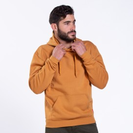 Blouse Hoodie 01042 DS Cotton Blend 275 Gsm Slim Fit Camel