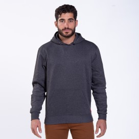 Μπλούζα Hoodie 01042 DS Cotton Blend 320 Gsm Slim Fit Anthracite