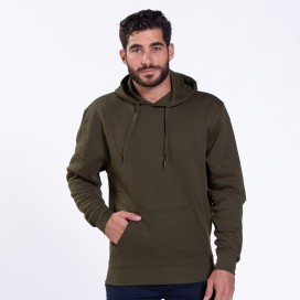 Blouse Hoodie 01042 DS Cotton Blend 275 Gsm Slim Fit Khaki