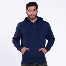 Μπλούζα Hoodie 01042 DS Cotton Blend 320 Gsm Slim Fit Navy