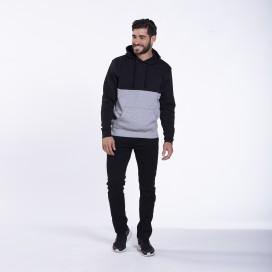 Pants Chino 01032 DS Cotton Blend Super Slim Fit Black