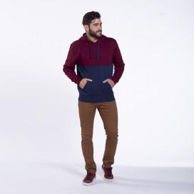 Pants Chino 01032 DS Cotton Blend Super Slim Fit Camel