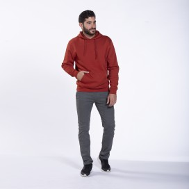 Παντελόνι 01032 Chino DS Cotton Blend Super Slim Fit Pencil Grey