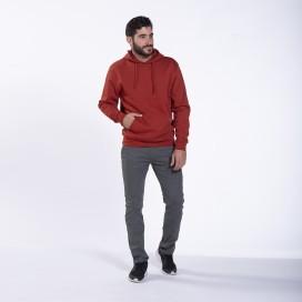 Pants Chino 01032 DS Cotton Blend Super Slim Fit Pencil Grey