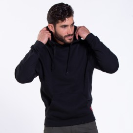 Μπλούζα Hoodie 06042 DS Oversized Cotton 275 Gsm Slim Fit Black