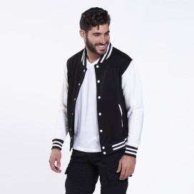Jacket College 00004 Black & White
