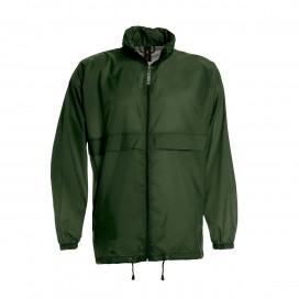 Jacket Sirocco Windbreaker Light Weight Nylon Forest Green