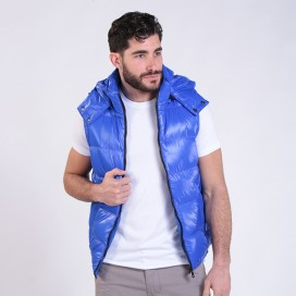 Puffer Shiny Vest 01042 Royal