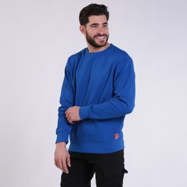 Sweatshirt 05042 DS Cotton Blend 275 Gsm Regular Fit Royal Blue