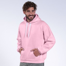 Hoodie MLC Fluffy 00043 Cotton Blend 320 Gsm Regular Fit Pink