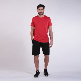 Workout Shorts 4402 Cotton 265 Gsm Regular Fit Black