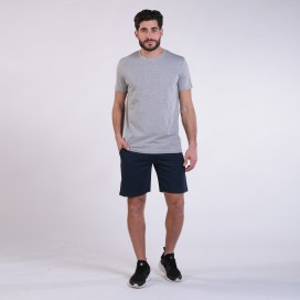 Workout Shorts 4402 Cotton 265 Gsm Regular Fit Navy
