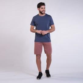 Workout Shorts Front Pocket 3060 Cotton 265 Gsm Regular Fit Pink