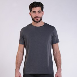 T-shirt 1800 Cotton 145 Gsm Regular Fit Unisex Dark Grey