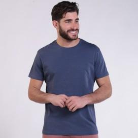 T-shirt 1800 Cotton 145 Gsm Regular Fit Unisex Indigo