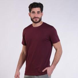 T-shirt 1800 Cotton 145 Gsm Regular Fit Unisex Burgundy
