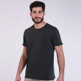 T-Shirt 5500 Round-Neck Cotton 180 Gsm Regular Fit Unisex Black
