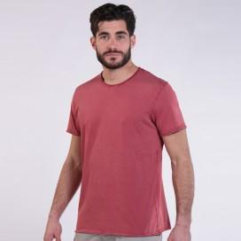 T-Shirt 5500 Round-Neck Cotton 180 Gsm Regular Fit Unisex Burgundy