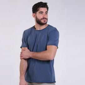 T-Shirt 5500 Round-Neck Cotton 180 Gsm Regular Fit Unisex Indigo