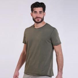 T-Shirt 5500 Round-Neck Cotton 180 Gsm Regular Fit Unisex Khaki