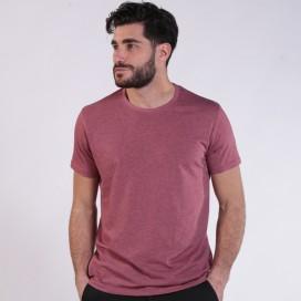 T-Shirt 1500 Cotton Blend 145 Gsm Regular Fit Burgundy